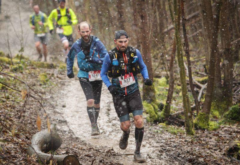 Eco Trail de Paris : Neige et boue pour 10 355 coureurs !