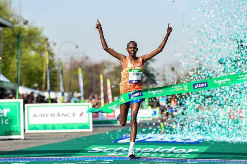 Marathon de Paris 2018 : le doublé pour Paul Lonyangata