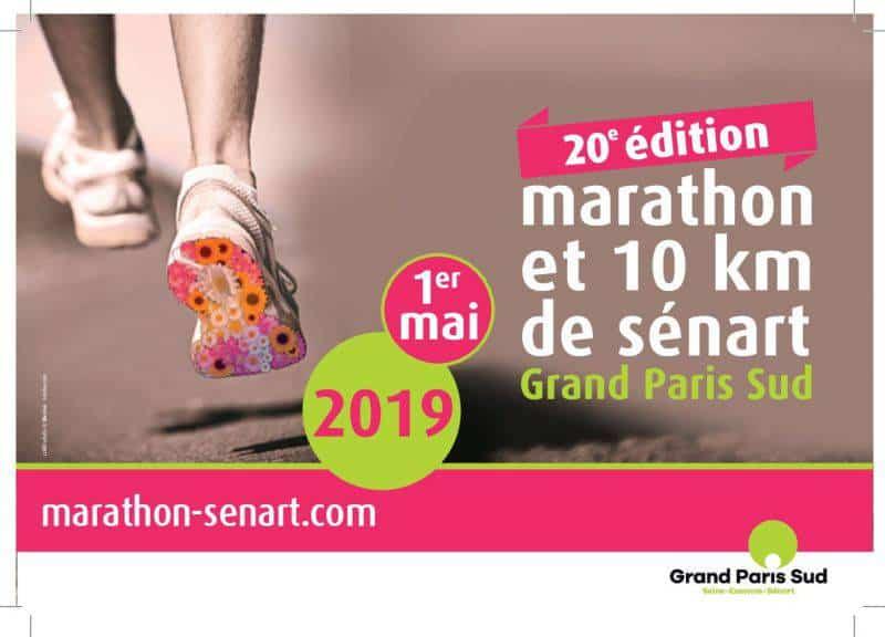 Marathon et 10km : rendez-vous à Sénart