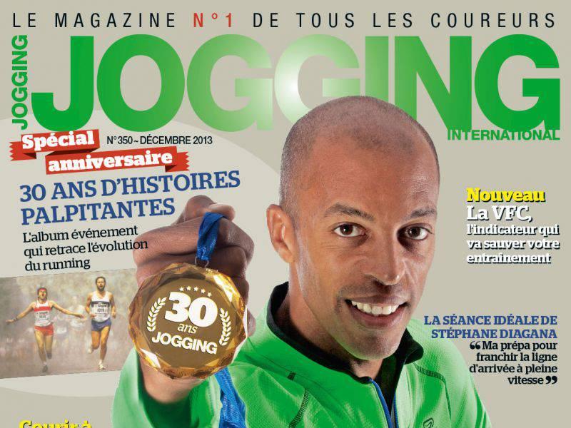 Le dernier numéro de Jogging International est en kiosque !