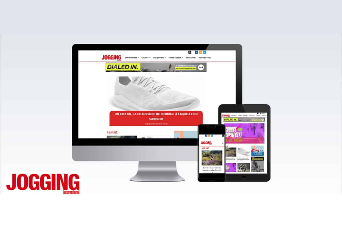 Nouveau site Jogging International