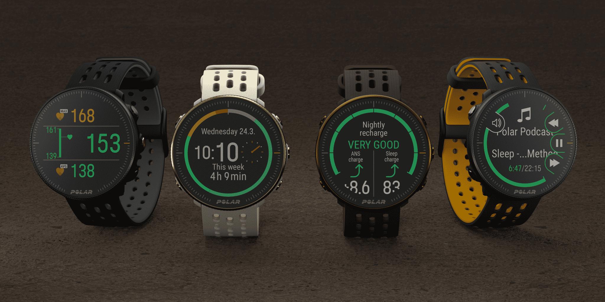 Polar sort deux nouvelles montres GPS