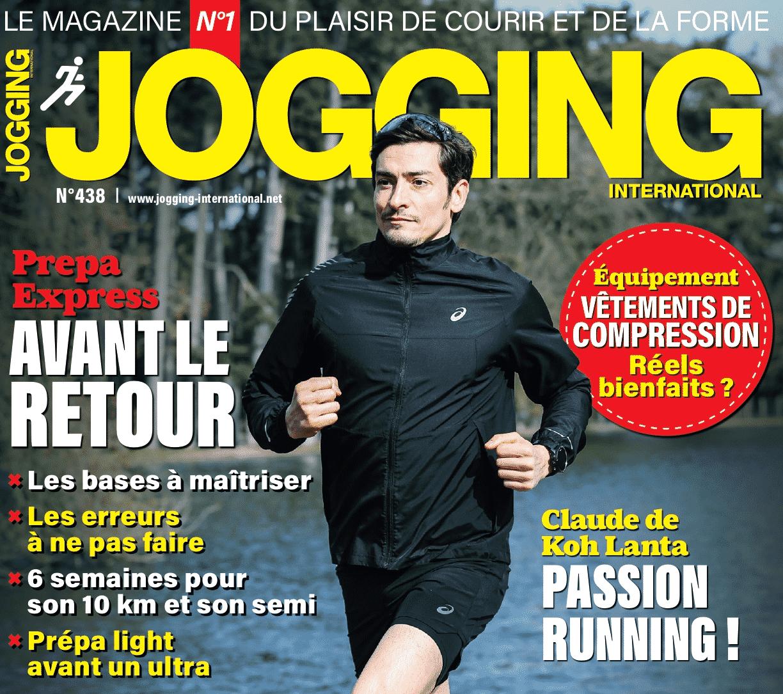 Le numéro 438 de Jogging International est en kiosque !