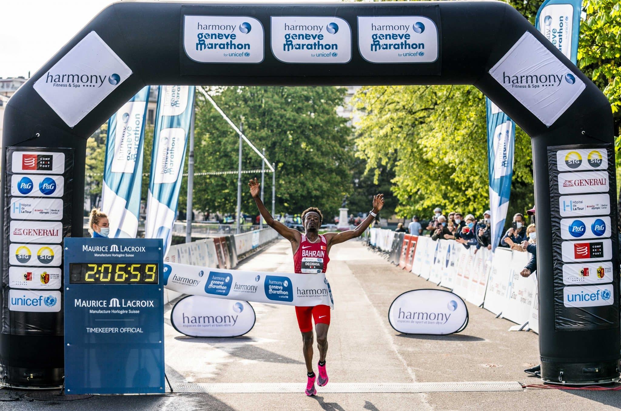 Un marathon réservé aux Élites à Genève