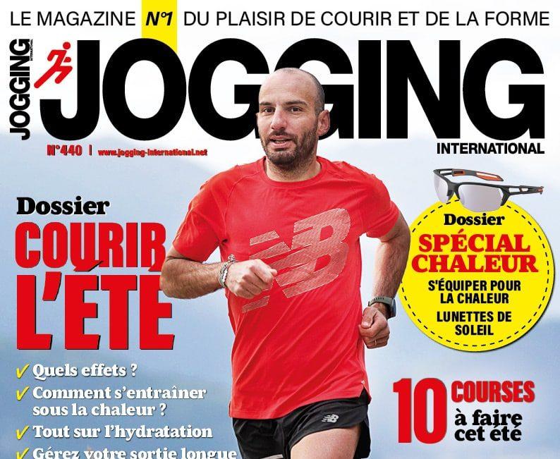 Le numéro 440 de Jogging International est en kiosque !