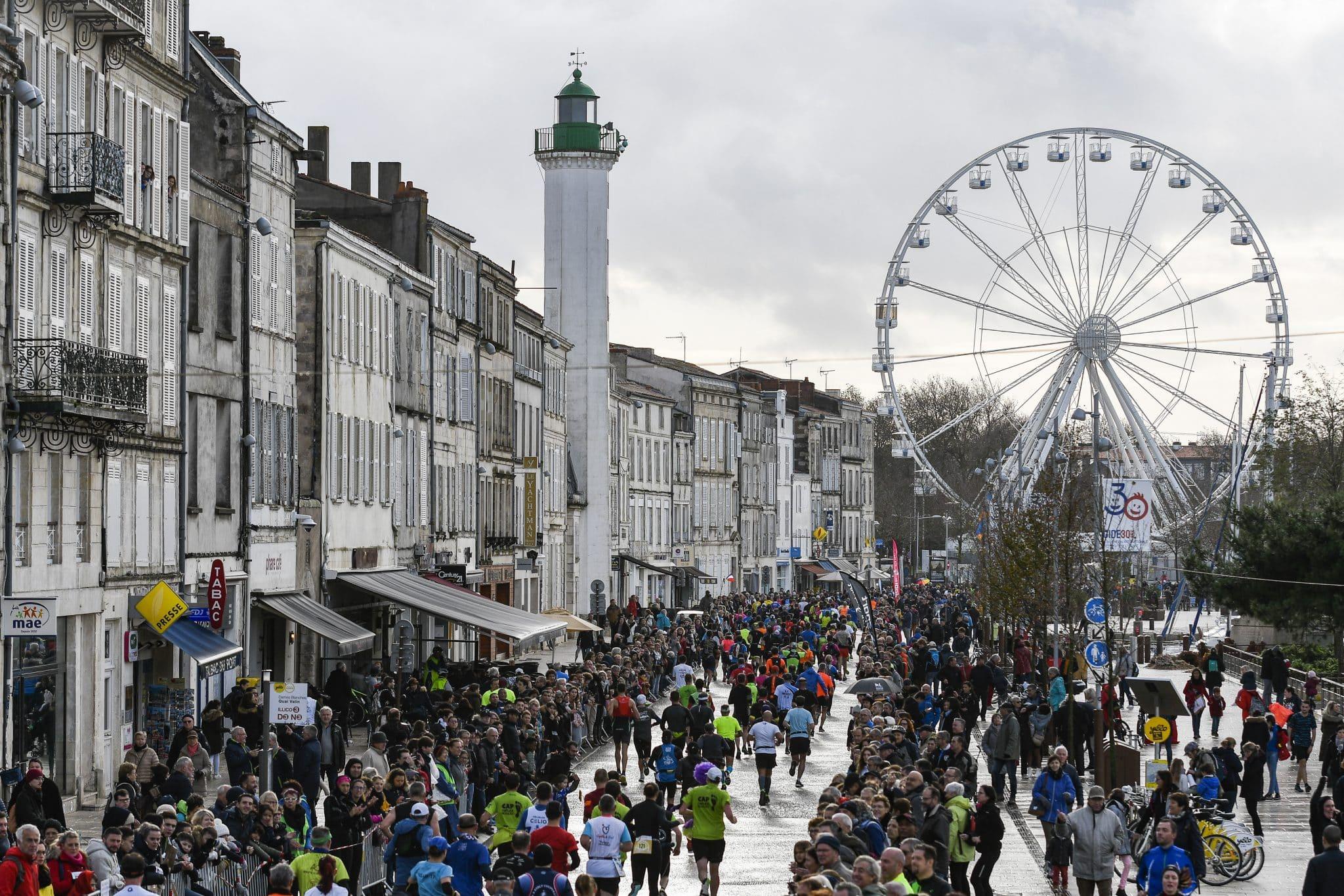 Le Marathon de La Rochelle fêtera sa 30ème édition