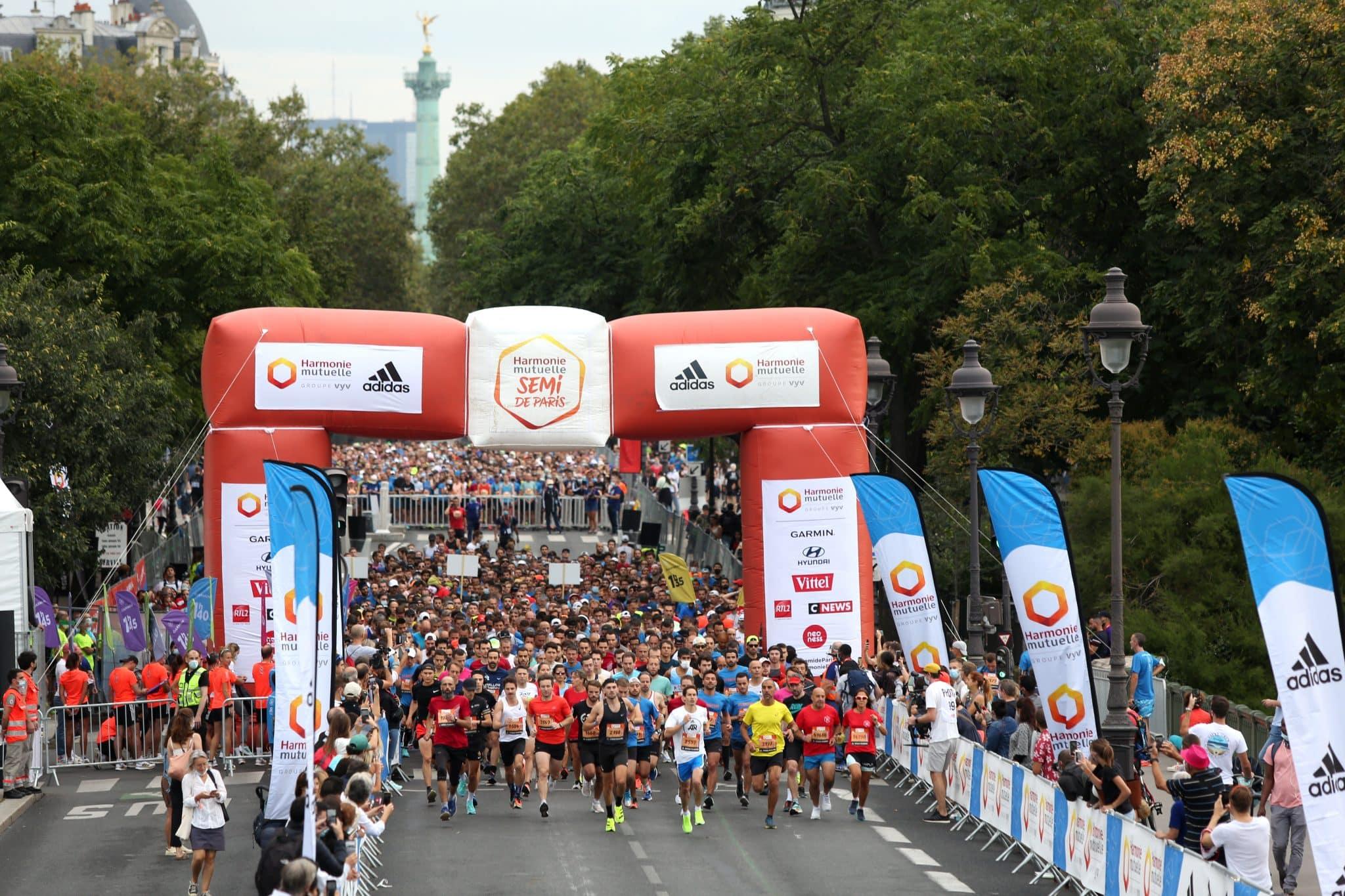 Succès pour le retour du Semi-marathon de Paris