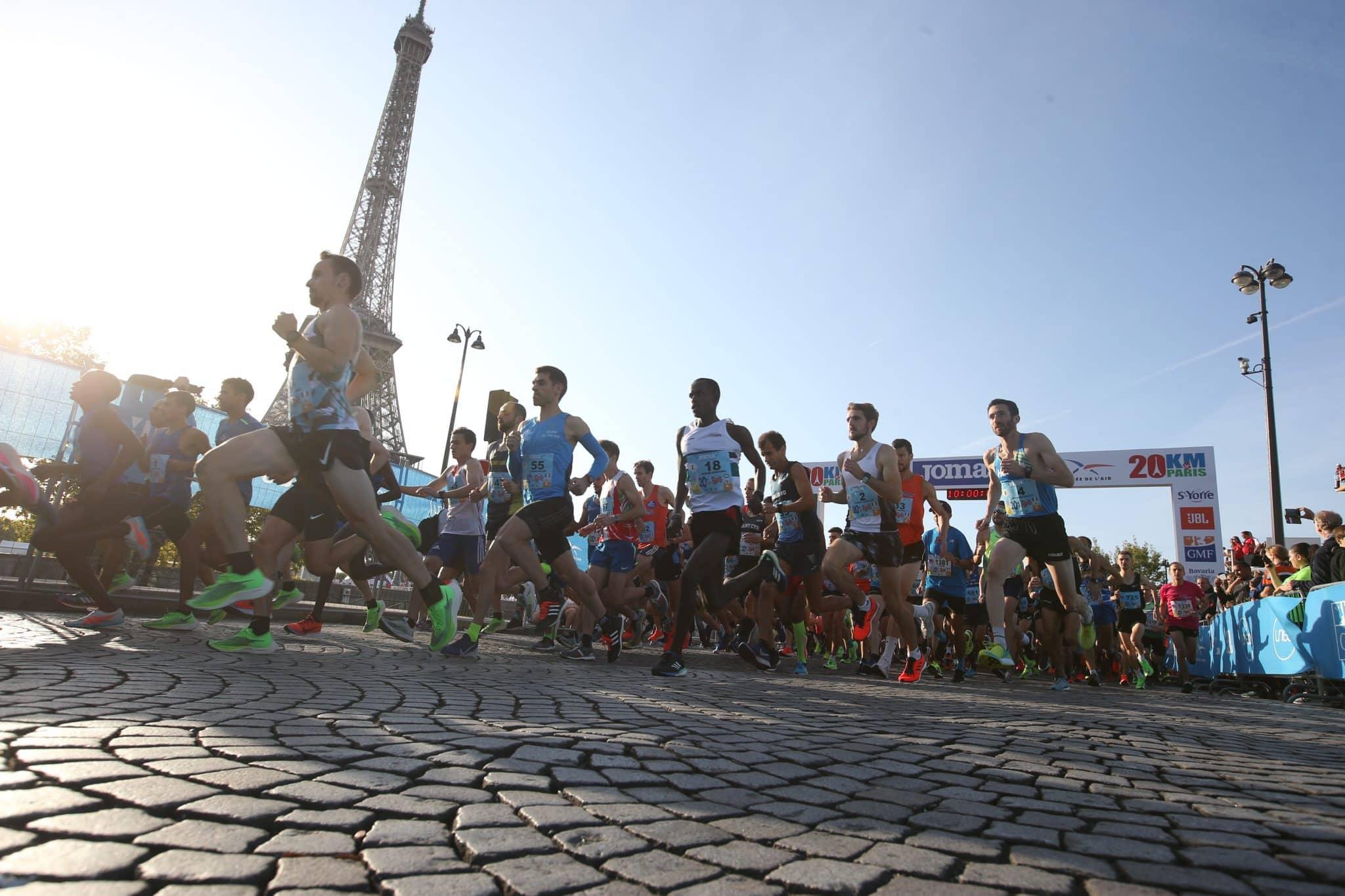 20 km de Paris : 12 000 coureurs attendus dans la capitale