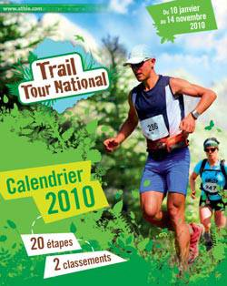affiche TTN 2010 trail tour national